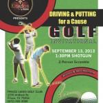 K@W Golf Tour. Postcard Front copy