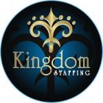 KINDOM_staffing_round logo